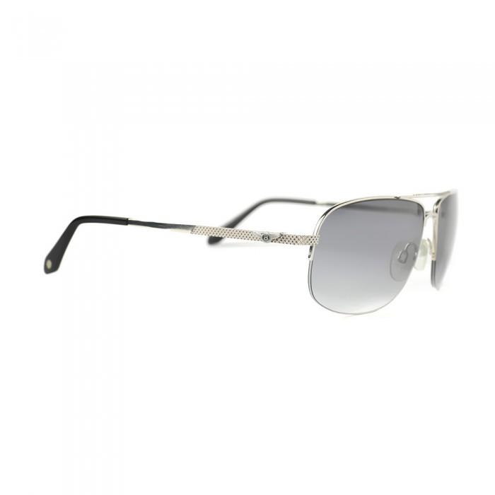 نظارة شمسية,ماركة Bentley, موديل 9080-C6,للرجال,مستطيل,إطار فضي, عدسات رمادي,خليط معدني