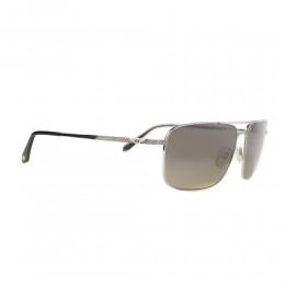 نظارة شمسية,ماركة bentley, موديل 9081-C4,للرجال,مربع,إطار فضي, عدسات بني,تيتانيوم