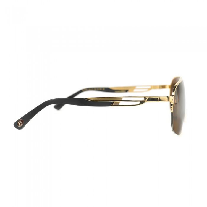 نظارة شمسية,ماركة bentley, موديل 9024-C9,للرجال,مستطيل,إطار مزيج من الالوان, عدسات بني,خليط معدني