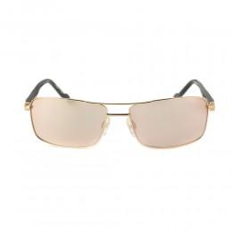 نظارة شمسية,ماركة bentley, موديل 9033-C1,للرجال,مستطيل,إطار مزيج من الالوان, عدسات بني,خليط معدني
