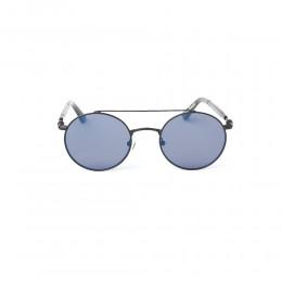 نظارة شمسية,ماركة LAMBORGHINI-Y20, موديل 590-53,للجنسين,مستدير,إطار اسود, عدسات اسود,خليط معدني