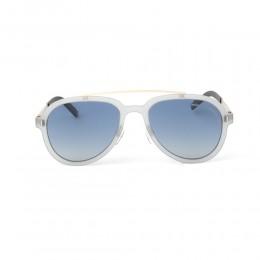 نظارة شمسية,ماركة LAMBORGHINI-Y20, موديل 579-54,للجنسين,افييتور,إطار شفاف, عدسات الازرق,متعددة