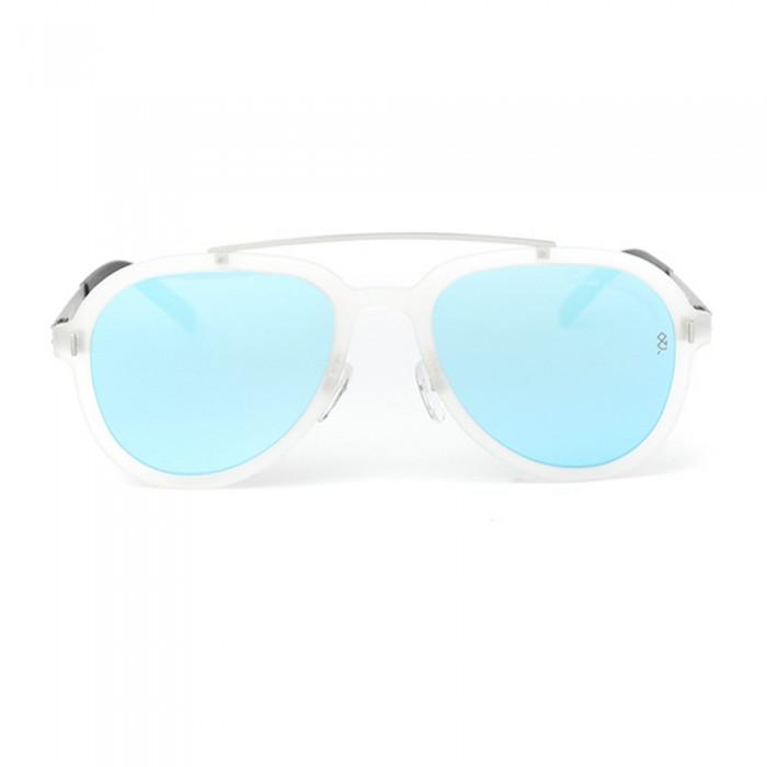 نظارة شمسية,ماركة LAMBORGHINI-Y20, موديل 579-55,للجنسين,افييتور,إطار ابيض, عدسات الازرق,متعددة