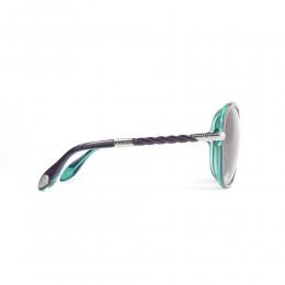 نظارة شمسية,ماركة BALDININI, موديل 1502-202,للنساء,شبه اطار,إطار مزيج من الالوان, عدسات بني,متعددة