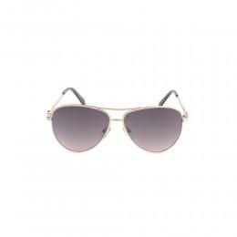 نظارة شمسية,ماركة LINEA ROMA , موديل 3573-c2,للنساء,افييتور,إطار ذهبي, عدسات بني,خليط معدني