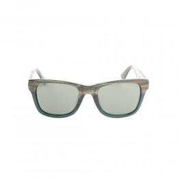 نظارة شمسية,ماركة LINEA ROMA , موديل 3561-c2,للجنسين,وايفير,إطار مزيج من الالوان, عدسات اسود,خشب