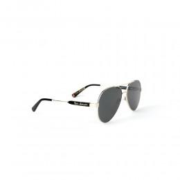 نظارة شمسية,ماركة LAMBORGHINI-Y20, موديل 568-62,للجنسين,افييتور,إطار ذهبي, عدسات الاخضر,خليط معدني