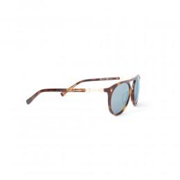 نظارة شمسية,ماركة LAMBORGHINI-Y20, موديل 573-52,للجنسين,قلب,إطار مزيج من الالوان, عدسات الاخضر,خليط معدني