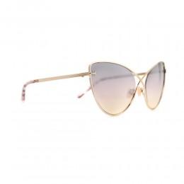 نظارة شمسية,ماركة Tom Ford ,موديل 786,للنساء,عيون القط , لون اطار مزيج من الالوان ,عدسة بنفسجي,خليط معدني