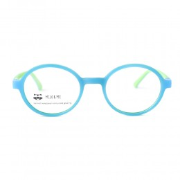 نظارة طبية ,ماركة milo &me,موديل 85080,للاطفال ,مستدير,مزيج من الالوان,ضد الضباب,لون العدسة شفاف,اسيتات