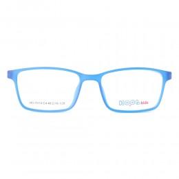 نظارة طبية ,ماركة kool kids,موديل HO7014,للاطفال ,وايفير,الازرق,ضد الضباب,لون العدسة شفاف,اسيتات
