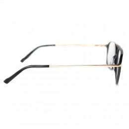نظارة طبية ,ماركة top point,موديل MUG009,للجنسين,كبير جدا,مزيج من الالوان,ضد الضباب,لون العدسة شفاف,خليط معدني