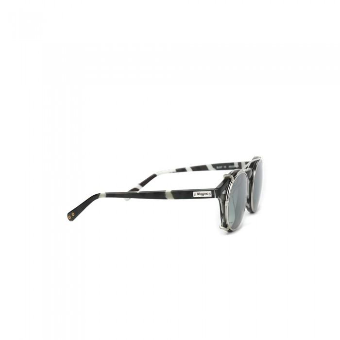 نظارة طبية ,ماركة BLAUER, موديل fr-007-c5,للجنسين,مستدير,إطار مزيج من الالوان, عدسات شفاف,خليط معدني