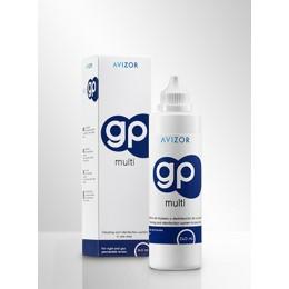 محلول جي بي GP صناعة اسبانية مخصص للعدسات الصلبة عبوة ٢٤٠