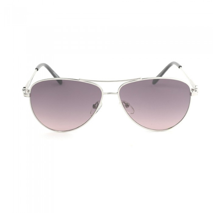 نظارة شمسية,ماركة LINEA ROMA , موديل 3573-c4,للنساء,افييتور,إطار فضي, عدسات بني,خليط معدني
