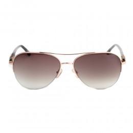 نظارة شمسية,ماركة LINEA ROMA , موديل 3607-c1,للنساء,افييتور,إطار ذهبي, عدسات بني,متعددة