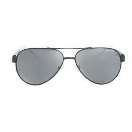 نظارة شمسية,ماركة Armani Exchnge ,موديل 2034S,للرجال,افييتور , لون اطار اسود ,عدسة رمادي,خليط معدني
