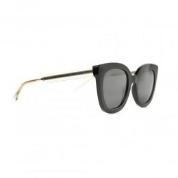 نظارة شمسية,ماركة Gucci ,موديل 564S,للنساء,مربع , لون اطار مزيج من الالوان ,عدسة اسود,اسيتات