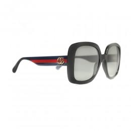 نظارة شمسية,ماركة Gucci ,موديل 713S,للنساء,مربع , لون اطار مزيج من الالوان ,عدسة اسود,اسيتات