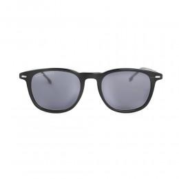 نظارة شمسية,ماركة Boss ,موديل 1117S,للرجال,وايفير , لون اطار مزيج من الالوان ,عدسة رمادي,خليط معدني