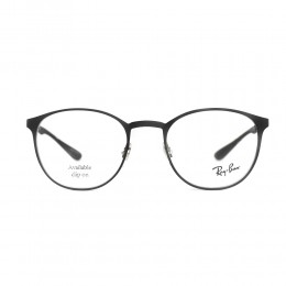 نظارة طبية ,ماركة RAYBAN ,موديل 6355,للجنسين,كبير جدا , لون اطار اسود ,عدسة شفاف,اسيتات