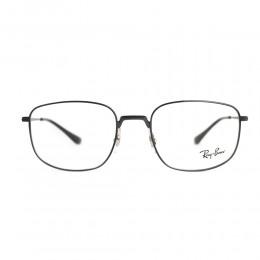 نظارة طبية ,ماركة RAYBAN ,موديل 6457,للجنسين,مربع , لون اطار اسود ,عدسة شفاف,خليط معدني