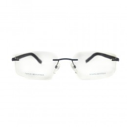 نظارة طبية ,ماركة Tommy Hilfiger ,موديل 1691,للجنسين,من دون اطار , لون اطار مزيج من الالوان ,عدسة شفاف,خليط معدني