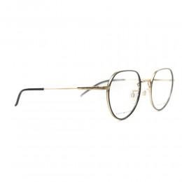 نظارة طبية ,ماركة Tommy Hilfiger ,موديل 1736F,للجنسين,مستدير , لون اطار مزيج من الالوان ,عدسة شفاف,خليط معدني